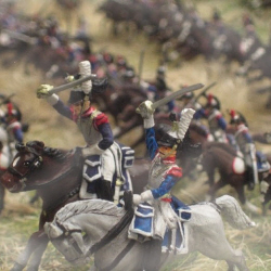 French Cuirassiers charging